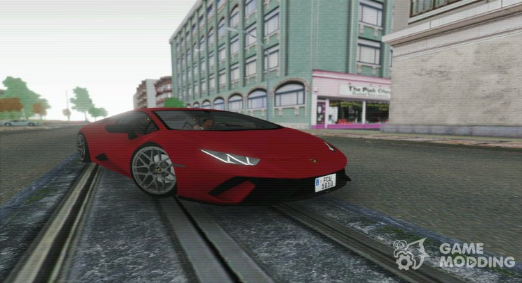 2020 Lamborghini Huracan Performante for GTA San Andreas