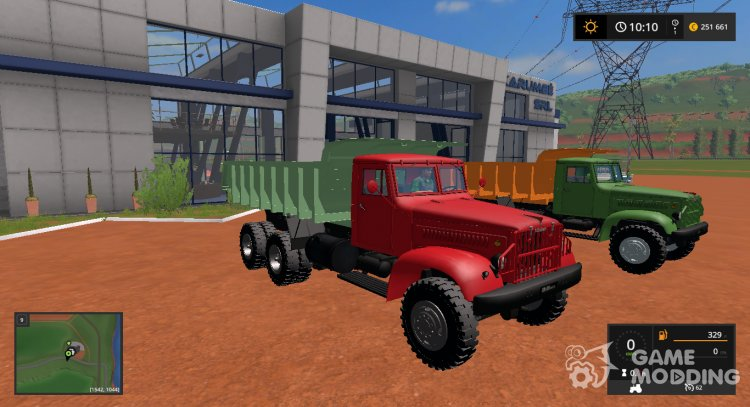 KrAZ-219 v1.0.0.0 for Farming Simulator 2017