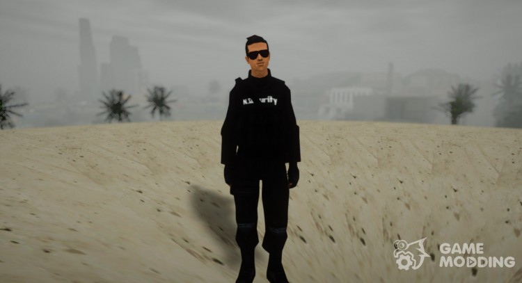 National Security Agent for GTA San Andreas