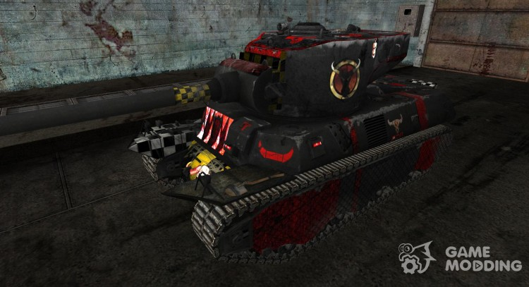 Skin for M6A2E1 for World Of Tanks