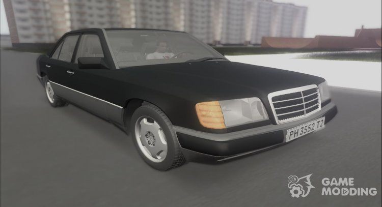Mercedes-Benz E 300 W 124 in 1995 with the TV series Dog for GTA San Andreas