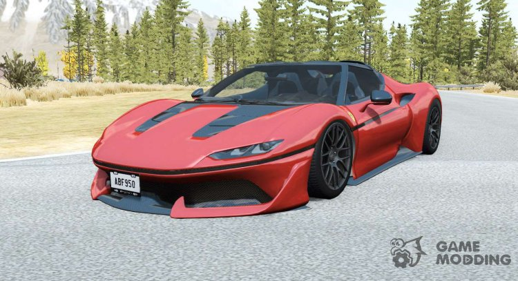 Ferrari J50 for BeamNG.Drive