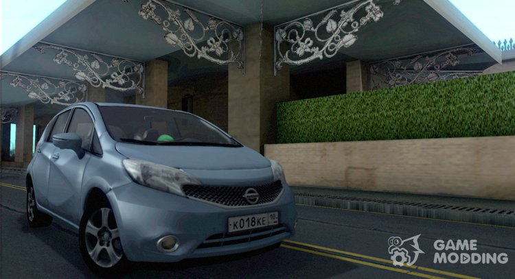 2013 Nissan Note for GTA San Andreas