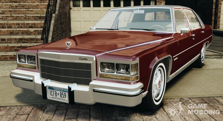 Cadillac Fleetwood Brougham Delegance 1986 для GTA 4