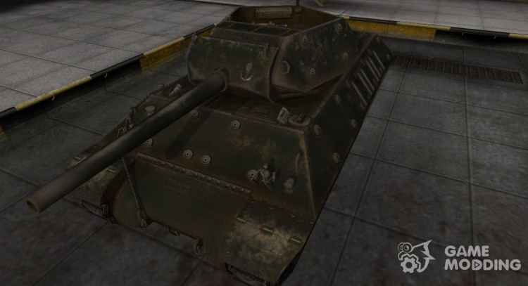 Emery cloth for American tank M10 Wolverine for World Of Tanks