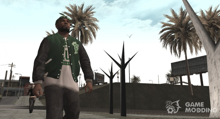 Grove Street HD Skins for GTA San Andreas