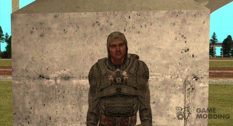 Arnie of S. T. A. L. K. E. R. for GTA San Andreas