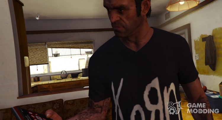 KoRn t-shirt for Trevor for GTA 5
