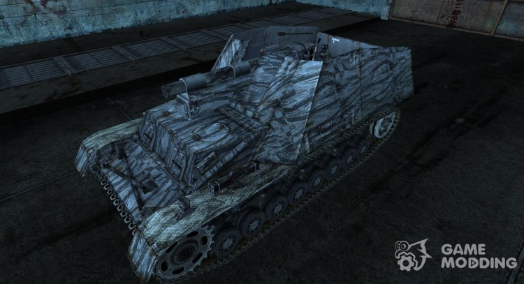 Hummel from Mohawk_Nephilium for World Of Tanks