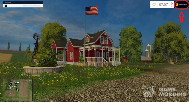 Cheat mod for money for Farming Simulator 2015