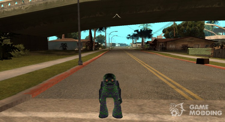 Skin the monster from Alien City for GTA San Andreas