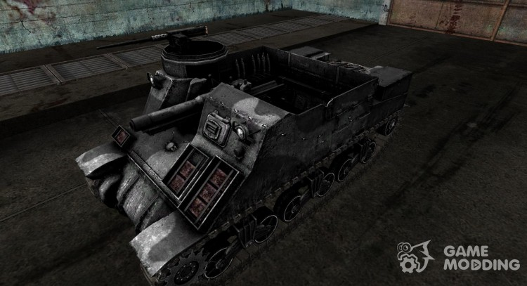 Skin for M7 Priest for World Of Tanks