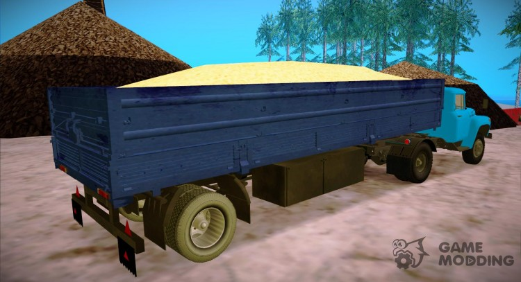 Trailer Wagon to Zyl 130 for GTA San Andreas