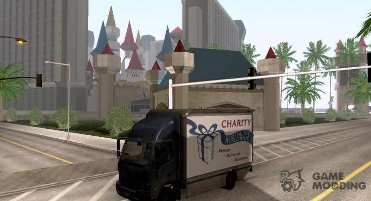 Charity Truck from Modern Warfare 3 for GTA San Andreas
