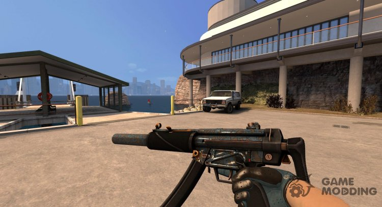 MP5-SD Acid Shower for Counter-Strike Source