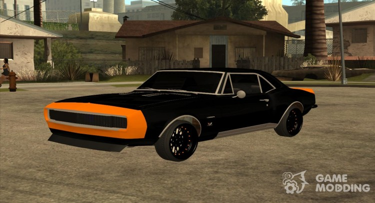 1967 Chevrolet Camaro Ss Bumblebee For Gta San Andreas
