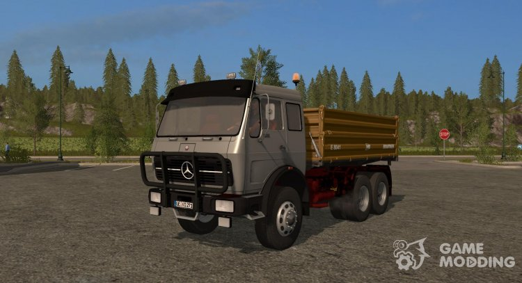 Mercedes-Benz NG version 11.12.16 for Farming Simulator 2017