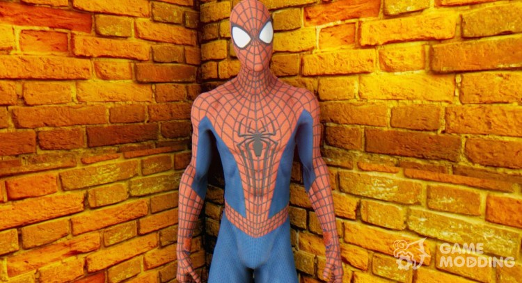 The Amazing Spider Man 2 Oficial Skin для GTA San Andreas