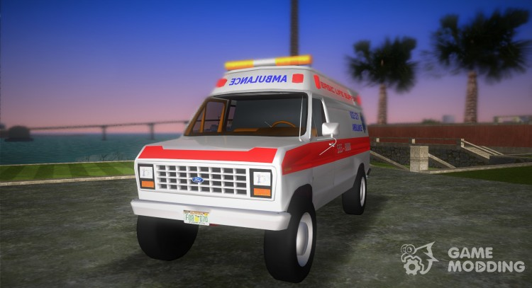 Ford E-250. for GTA Vice City