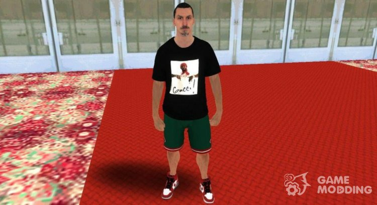 Zlatan Ibrahimovic for GTA San Andreas