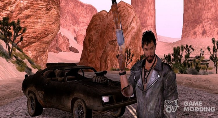 Max Rockatansky with Jacket from Mad Max for GTA San Andreas
