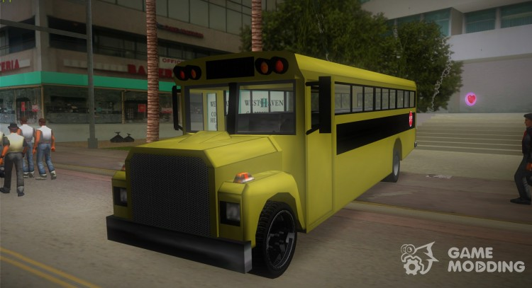 School Pimp Bus v. 2 for GTA Vice City