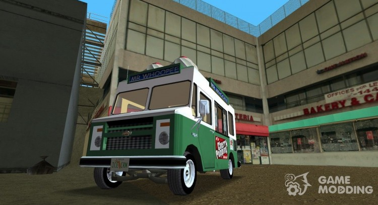 Chevrolet Forvard Control 20 Ice Cream for GTA Vice City