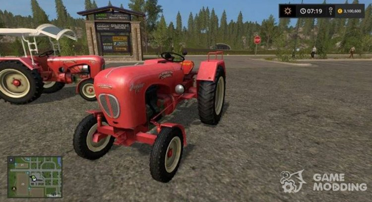 Porsche Junior for Farming Simulator 2017