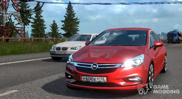 Opel Astra K for Euro Truck Simulator 2
