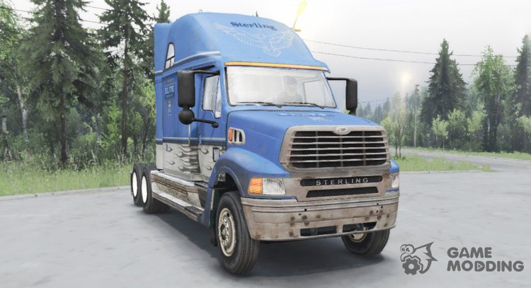 Sterling A9500 Elite Support for Spintires 2014