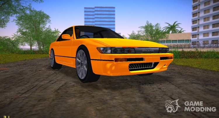 Nissan Silvia S13 Black Revel for GTA Vice City
