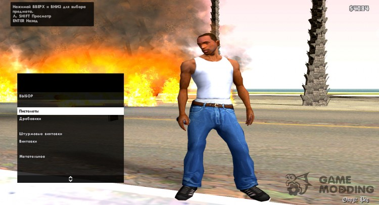 Pak for cheaters for GTA San Andreas