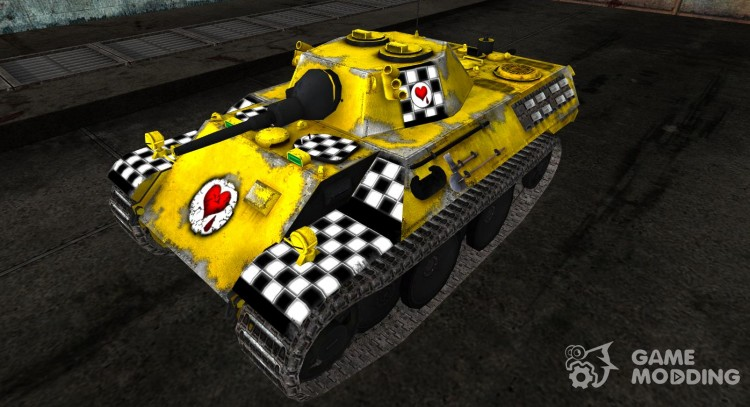 The skin for the VK1602 Leopard for World Of Tanks