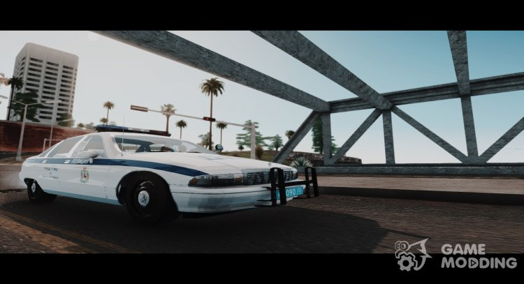 Chevrolet Caprice  traffic police» for GTA San Andreas