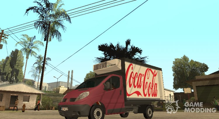 Renault Trafic Mk2 Coca Cola for GTA San Andreas