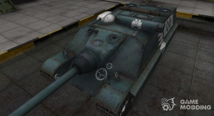 Breaking through the zone contour for the AMX 50 Foch-(155) for World Of Tanks
