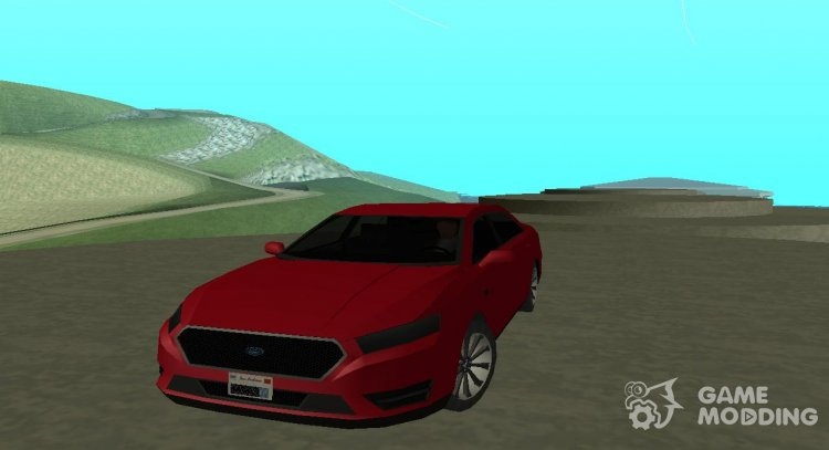 Ford Taurus 2013 Lowpoly for GTA San Andreas