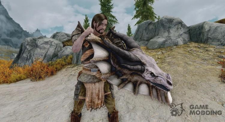 Elite Dragon Shield for TES V: Skyrim