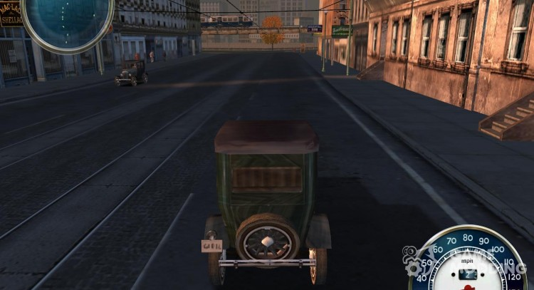 HD Speedometer from Mafia Upgrade Altin for Mafia: The City of Lost Heaven