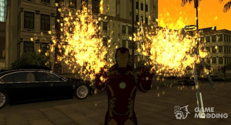 Iron man powers for GTA San Andreas