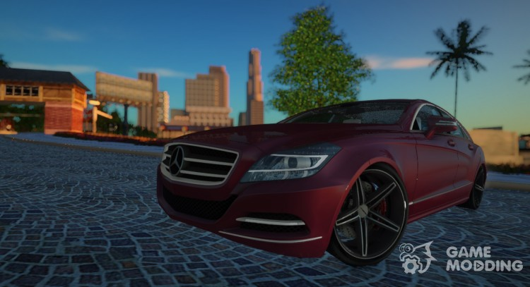 2012 Mercedes-Benz CLS63 AMG Vossen VVS-CV5 for GTA San Andreas