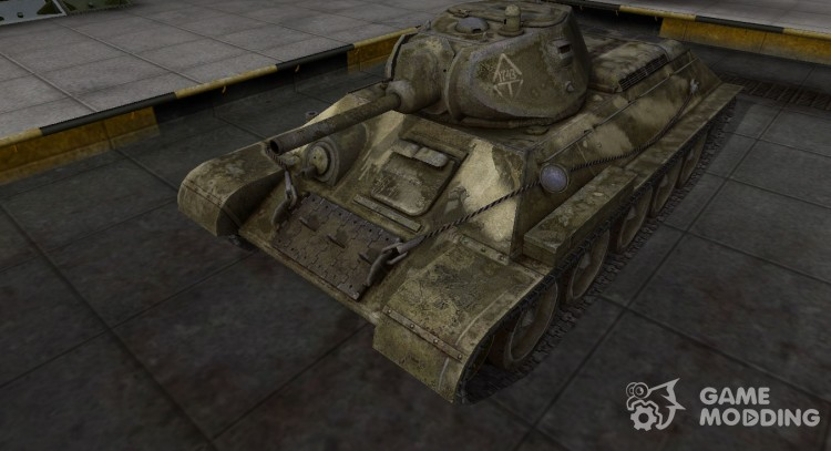 Camo T-34 history for World Of Tanks