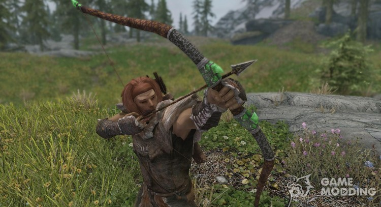 Insanitys Glass Bow for TES V: Skyrim