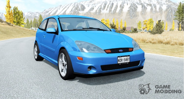Ford Focus SVT (DBW) 2002 for BeamNG.Drive