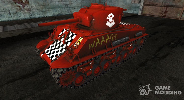 M4A3E8 Sherman Webtroll for World Of Tanks