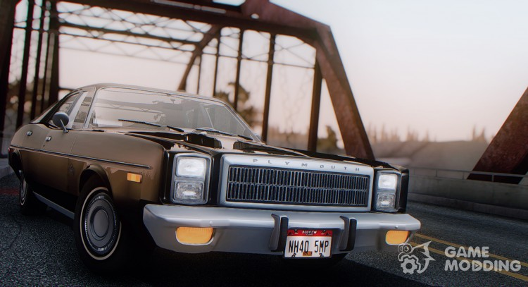 Plymouth Fury Salon (RL41) 1978 для GTA San Andreas