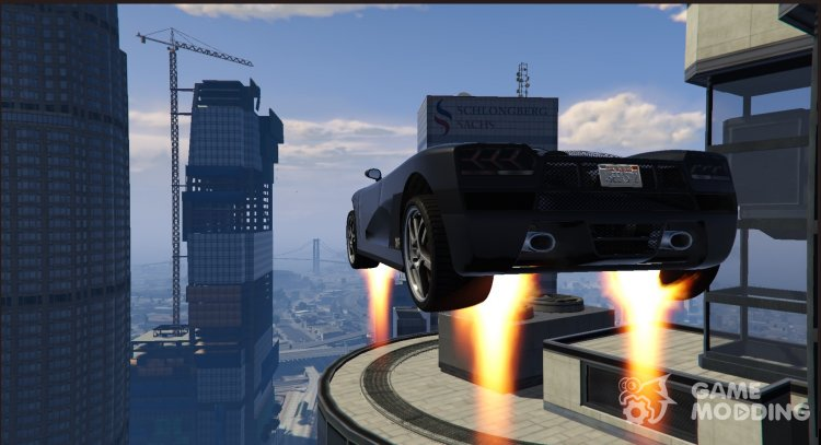 Vehicles Jetpack 1.3 for GTA 5