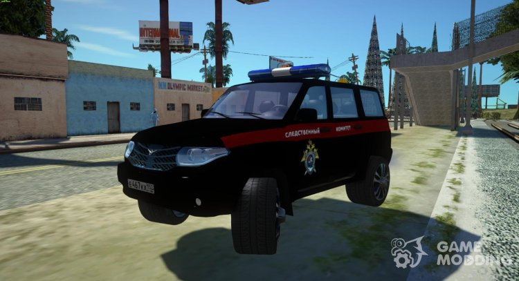 UAZ Patriot (Facelift II) the Investigation Committee for GTA San Andreas