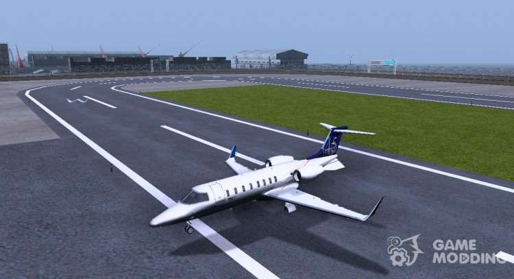 Bombardier Learjet 45 XR for GTA San Andreas