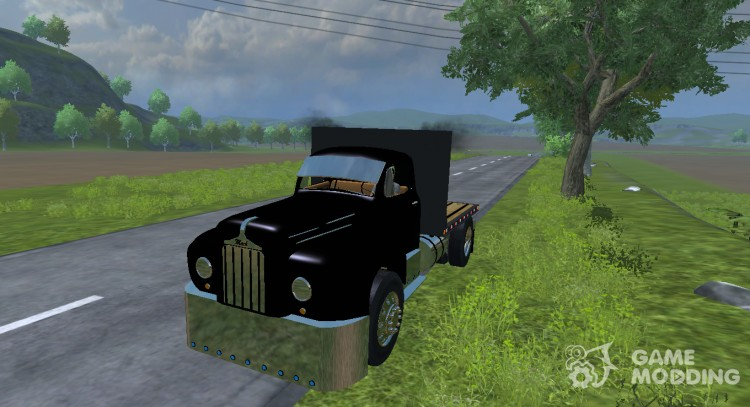 Mack B63 Flatbed for Farming Simulator 2013